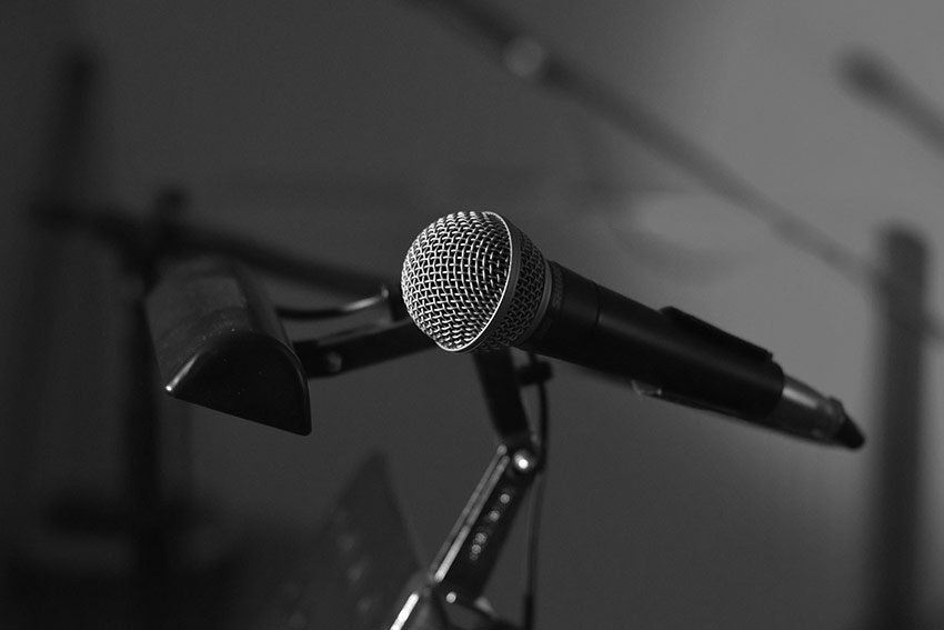 live music microphone
