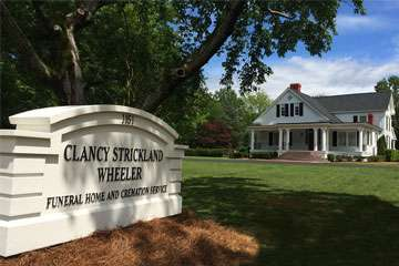 Clancy Strickland Wheeler Funeral Home