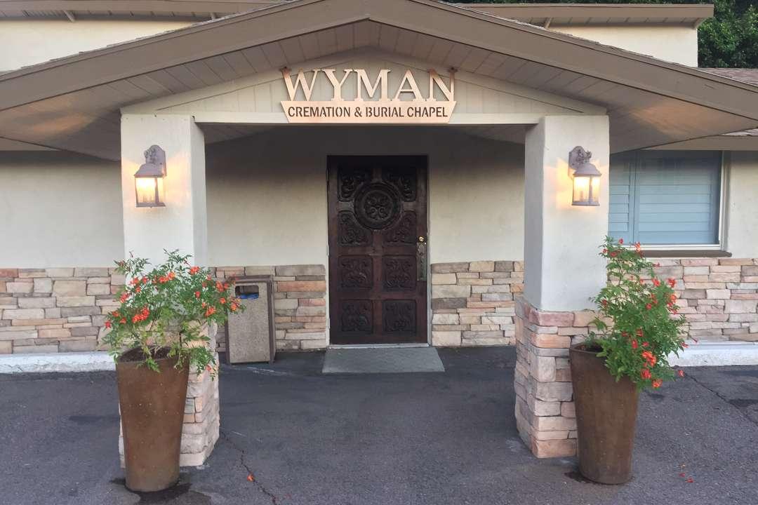Wyman Cremation front