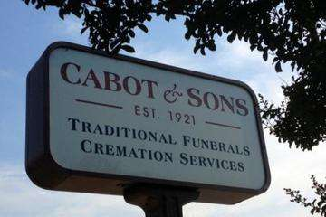 Cabot & Sons Traditional Funeral & Cremation Services