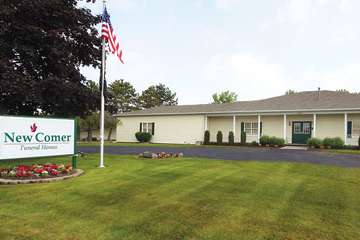 New Comer Funeral Home West Rochester Chapel