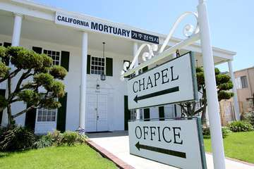Forest Lawn Mortuary Long Beach Ca Parting